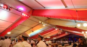 Zeltbeleuchtung Schützenfest